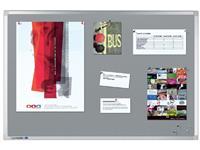 Prikbord Legamaster professional 90x120cm kurklino grijs
