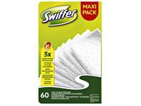 Swiffer navulling met 60 droge doekjes
