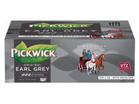 Thee Pickwick Earl grey 100 zakjes van 2gr met envelop