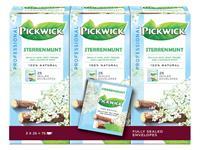 Thee Pickwick sterrenmunt 25 zakjes van 2gr