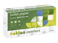 Toiletpapier Satino Comfort 2-laags 400vel wit 8rollen