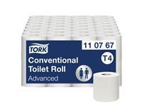 Toiletpapier Tork T4 110767 Advanced 2laags 250vel 64rollen wit