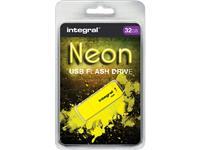 USB-STICK INTEGRAL FD 32GB NEON GEEL