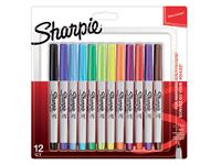 VILTSTIFT SHARPIE ROND 0.5MM ASS