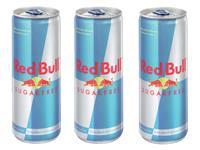 ENERGY DRANK RED BULL SUGAR FREE BLIKJE 0.25L