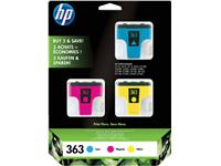 INKCARTRIDGE HP 363 CB333EE 3 KLEUREN
