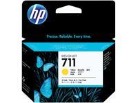 Inkcartridge HP CZ136A 711XL geel HC