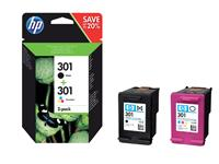 INKCARTRIDGE HP 301 N9J72AE ZWART KLEUR