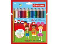 Kleurpotloden Stabilo Color 979 24stuks assorti