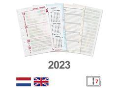 Agendavulling 2022 Kalpa Pocket Junior bloemen 7dag/2pag
