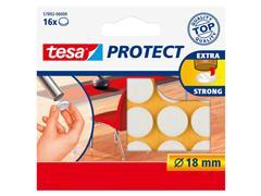 Beschermvilt Tesa antikras 57892 18mm rond wit