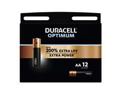 Batterij Duracell Optimum 12xAA