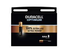 Batterij Duracell Optimum 8xAAA
