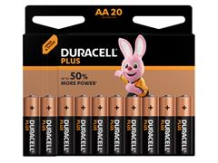 Batterij Duracell Plus Power 20xAAA alkaline