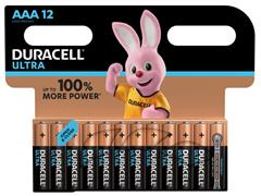 Batterij Duracell Ultra Power 12xAAA alkaline