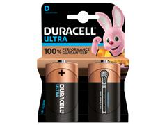 BATTERIJ DURACELL D ULTRA POWER MX1300 ALKALINE