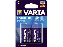 Batterij Varta Longlife Power 2xC