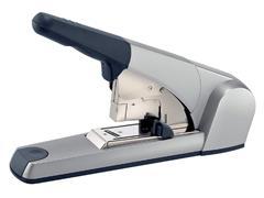 Blokhechter Leitz 5553 Flat Clinch 120vel zilvergrijs