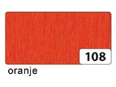 Crepepapier Folia 250x50cm nr108 oranje