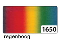 Crepepapier Folia rol 250x50cm nr1650 regenboog