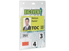 Durable badge voor evenementen