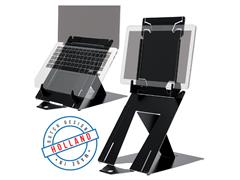 Ergonomische laptopstandaard R-Go Tools Riser Duo