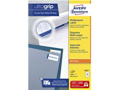 Etiket Avery Zweckform 3421 70x25.4mm wit 3300stuks