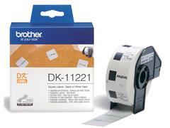Etiket Brother DK-11221 23x23Mm 1000stuks