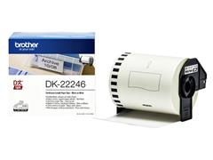 Etiket Brother DK-22246 103mm 30-meter wit papier