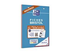 FLASHCARD OXFORD BRISTOL 2.0 A5 210GR 30VEL RUIT ASS