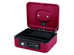 Geldkist Pavo Deluxe 200x160x90mm rood