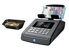 Geldtelmachine Safescan 6185 geldtelweegschaal zwart