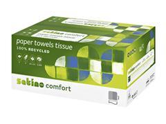 Handdoek Satino Comfort V-Vouw 25x23cm 2-laags 3200st