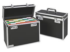 Hangmappenkoffer afsluitbaar Leitz 6716 zwart