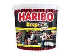 DROPMIX GEKLEURD HARIBO 650GR