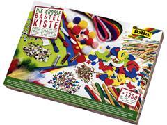 Hobby artikelen in doos meer dan 1300 stuks assorti