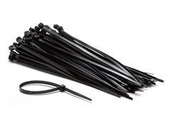 Inbindstrips nylon 4,8x200mm Ø49,5mm zwart