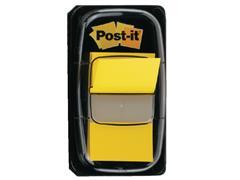 Indextabs 3M Post-it 680 25.4x43.2mm geel
