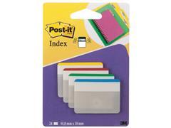 Indextabs 3M Post-it 686 38x50.8mm strong recht assorti