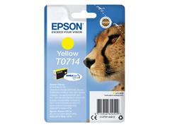 INKCARTRIDGE EPSON T0714 GEEL