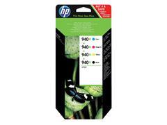 Inktcartridge HP C2N93AE 940XL zwart + 3 kleuren HC
