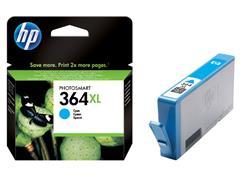 Inktcartridge HP CB323EE 364XL blauw HC