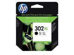 Inktcartridge HP F6U68AE 302XL zwart
