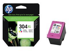 Inktcartridge HP N9K07AE 304XL kleur