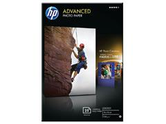 Inkjetpapier HP Q8691A 10x15cm photo glossy 250gr 25vel