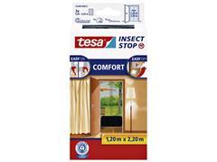 Insectenhor Tesa 55389 voor deur 1,2x2,2m zwart