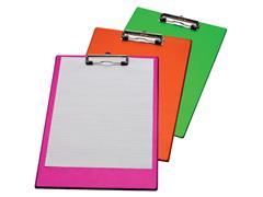 Papierklem klembord LPC gekleurd