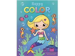 Kleurblok Deltas Happy Color Zeemeermin