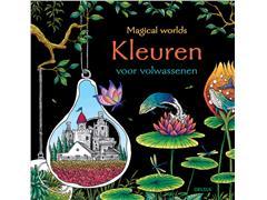 Kleurboek Deltas volwassenen Magical Worlds
