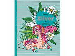 Kleurboek Interstat volwassenen zilver thema fantasy
